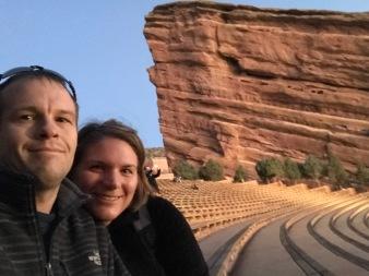 Red Rocks selfie