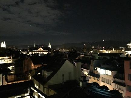 Zurich rooftop views